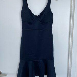 Navy Bustier Dress